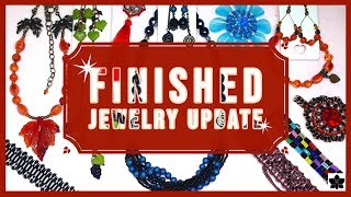 ✨FINISHED JEWELRY UPDATE 💜OCTOBER 11, 2019 | Project Share | Beading, Beadweaving