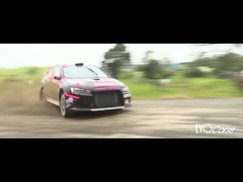 Rallying with EVO Corse