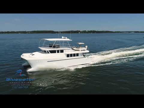Custom Catamaran video