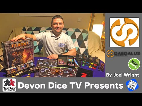 Make up and Review Deadalus Insert for Clank! by Joel Wright