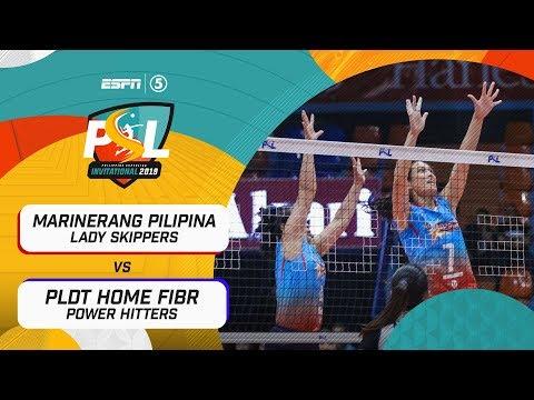 [Sport5]  Full Game: Marinerang Pilipina vs PLDT Home Fibr | PSL Invitational Conference 2019