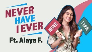 Alaya F plays Never Have I Ever; reveals she has fallen in love at first sight I Jawaani Jaaneman