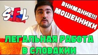 Как ЛЕГАЛЬНО работать в Словакии? ВНИМАНИЕ: мошенники по трудоустройству за границей!!!
