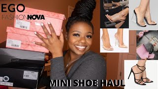 FASHION NOVA + EGO SHOES TRY ON HAUL SPRING 2020 | AYANNA L. HILL