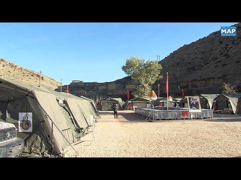 العرب اليوم - شاهد : المستشفى العسكري الميداني يشرع في تقديم خدماته الطبية لسكان منطقة أنفكو