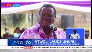 COTU SG Francis Atwoli lauds President Uhuru for Executive order