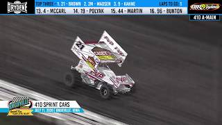 Knoxville Raceway 410 Highlights - July 11, 2020