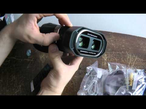 Unboxing the JVC GS-TD1 3D Camcorder