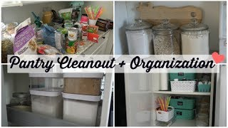 DEEP PANTRY CLEANOUT + ORGANIZATION + INVENTORY