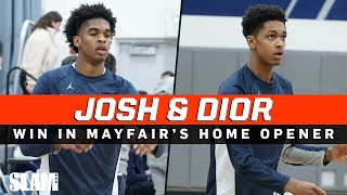 Josh Christopher & Dior Johnson BLOWOUT League Opponent in HOME OPENER!
