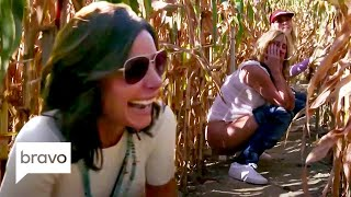 Is Sonja... Peeing in a Corn Maze?   RHONY Highlights (S12 Ep7)