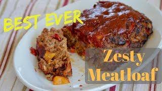 Best Ever Zesty Meatloaf