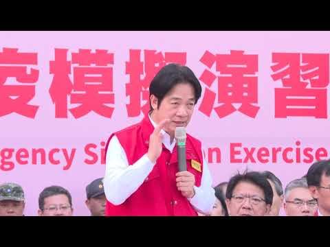 Premier Lai observes emergency ASF quarantine exercises in Kaohsiung and Pingtung