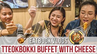 Dookki - Singapore's First Tteobokki Buffet with Cheese Ring | Eatbook Vlogs | EP 15