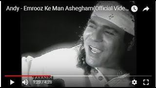 Emrooz Ke Man Ashegham Music Video