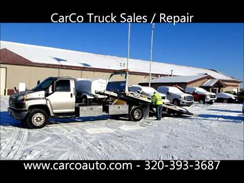 Chevrolet C5500 Diesel With Jerr-Dan Rollback Flatbed Tow Truck For Sale By CarCo Truck Mp3