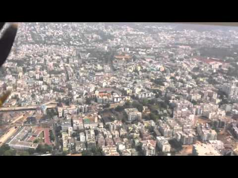 Vizag city Ariel view