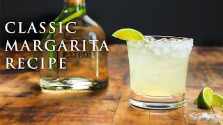 Classic Margarita Recipe | Easy Tequila Cocktails | Patrón Tequila