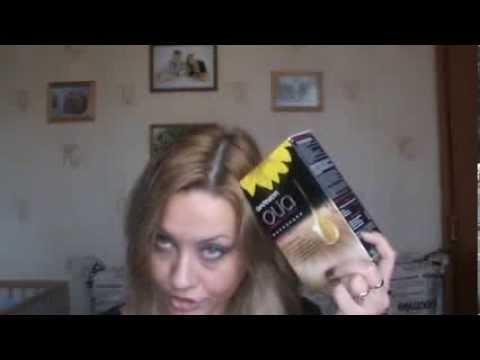 Сравнение краски для волос Garnier Olia 9.0 и Loreal Excellence Creme 9.0