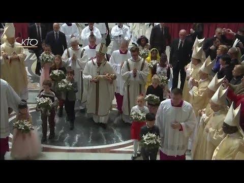 Messe de la Nuit de Noël à Rome