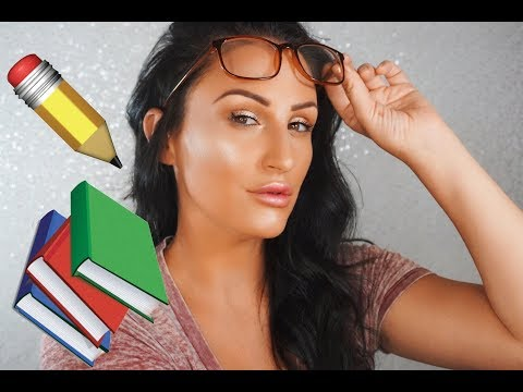 LESS THEN 10 MIN BACK TO SCHOOL MAKEUP TUTORIAL USING NEW MORPHE