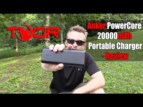 Tons of Power! – Anker PowerCore 20,000mAh Portable Charger Review