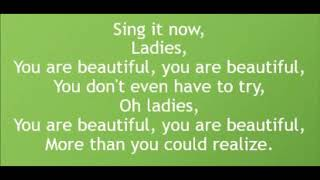 Ladies - Andy Grammer (Lyrics)