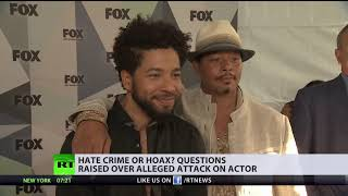 Hoax to improve career? Alleged attack on Jussie Smollett keeps raising questions