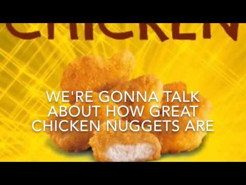 Nick Bean- Chicken Nugget Lyrics - Tayla Renee