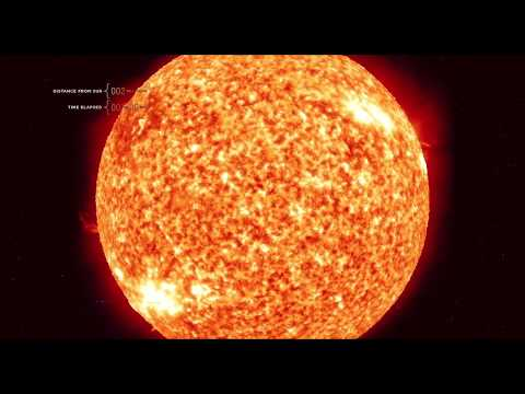 Travel from the Sun to Jupiter at the Speed of Light