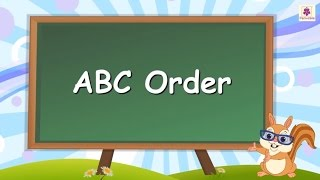 Learn ABC Order or Alphabetical Order For Kids | English Grammar | Grade 2 | Periwinkle