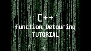 (C++) Function Detouring Tutorial (Internal Game Hacking)