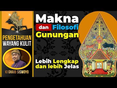 Arti dan Makna Gunungan Wayang - Ki Ghaib Siswoyo