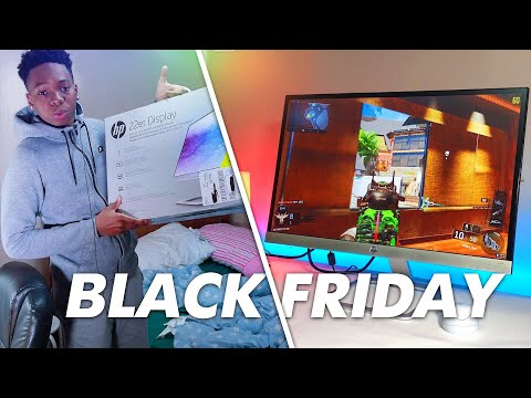 HP 22er 21.5-inch Monitor Review - BLACK FRIDAY DEAL!! $100
