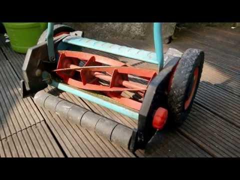 Gardena Spindelmäher Messerabstand nachstellen