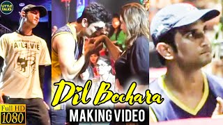 Dil Bechara – Title Track Official Making Video | Sushant's Single Take Performance | AR Rahman