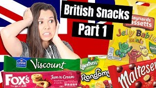American trying British Candy | Part 1