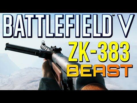 Battlefield 5: New ZK-383 Shreds Everybody! (Battlefield V Multiplayer Gameplay)