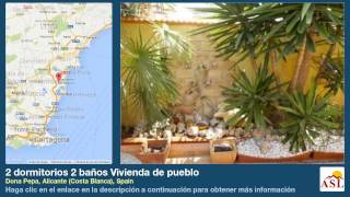 preview picture of video '2 dormitorios 2 baños Vivienda de pueblo se Vende en Dona Pepa, Alicante (Costa Blanca), Spain'