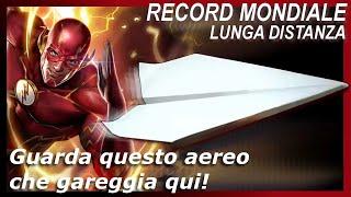 Come Fare Un Aereo Di Carta - Record Mondiale - Distanza Più Lungo! Aereo #8