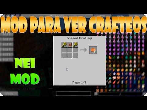 NEI MOD PARA MINECRAFT 1.9.4 / 1.9 / 1.8 / 1.7.10 / 1.7.2 | Los Crafteos y Recetas De Minecraft