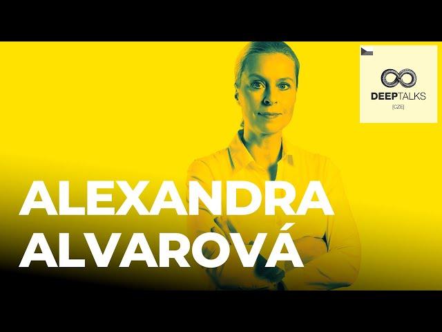 DEEP TALKS 84: Alexandra Alvarová – Novinářka, spisovatelka a odborník na dezinformace