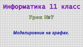 Информатика 11 класс Урок 7