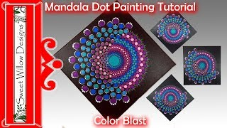 How To Paint Dot Mandalas 014