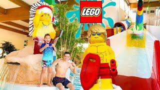 PARC AQUATIQUE LEGO - Toboggans 100% Fun ! thumbnail