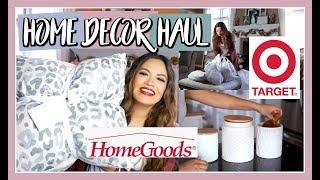 HOMEGOODS & TARGET Home Decor Haul