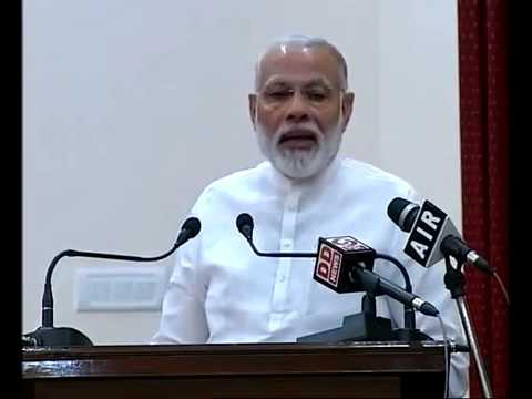 PM Modi addressed families of freedom fighters who took part in Paika Rebellion in Bhubaneswar