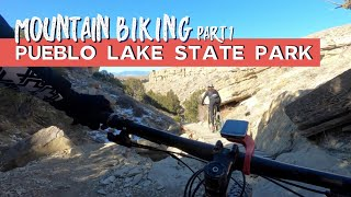 All the Technical Trails: Mountain Biking Pueblo Lake State Park.