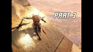 Assassin's Creed Origins Gameplay Walkthrough Part 3 - PYRAMID DUNGEON (Hands on Impressions)