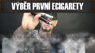 Vape Encyklopedie - 3. díl: Výběr první e-cigarety (prvního vejpu)